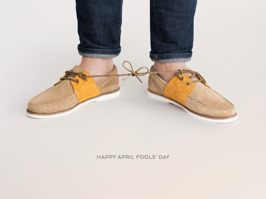 M. Moustache Outdoor Ad - April Fools' Day, 2