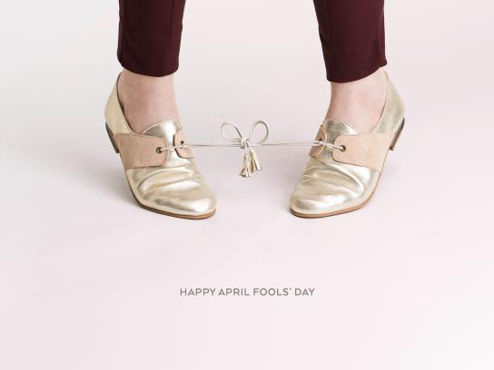 M. Moustache Outdoor Ad - April Fools' Day, 1
