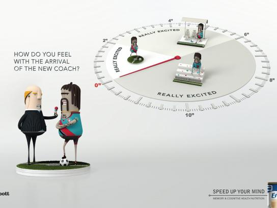 Ensure Print Ad -  Football