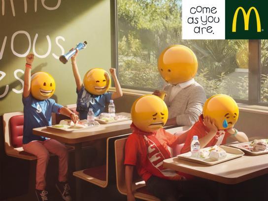 McDonald's Print Ad -  Football team