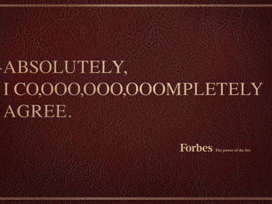 Forbes Print Ad - Completely