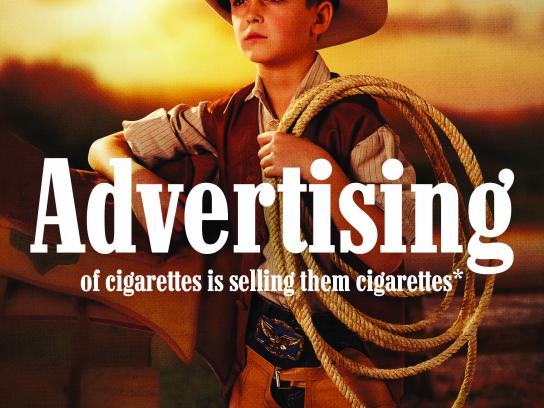 Smoke Free Life Print Ad - Forbidden