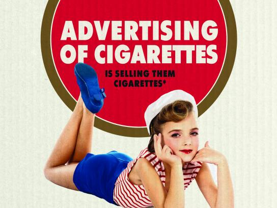 Smoke Free Life Print Ad - Forbidden, 2