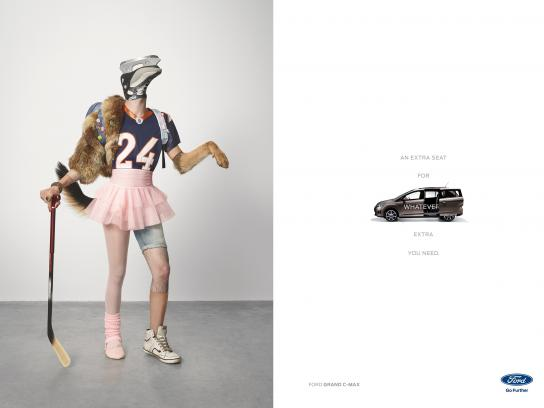 Ford Print Ad - Dancer