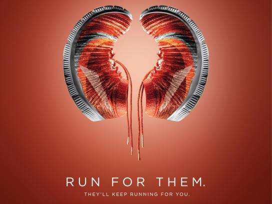 Fortis Print Ad - World Kidney Day - Shoes
