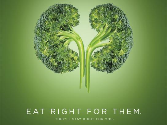 Fortis Print Ad - World Kidney Day - Broccoli