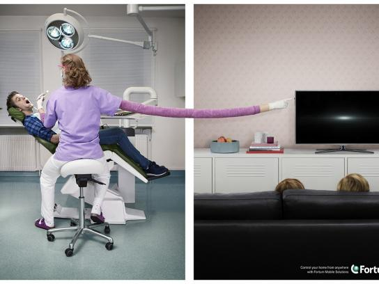Fortum Outdoor Ad -  Control your home from anywhere, 3