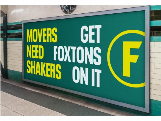 Foxtons Outdoor Ad - Get Foxtons On It
