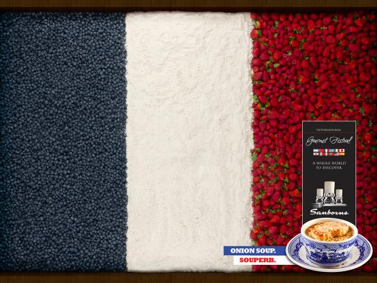 Sanborns Print Ad -  France