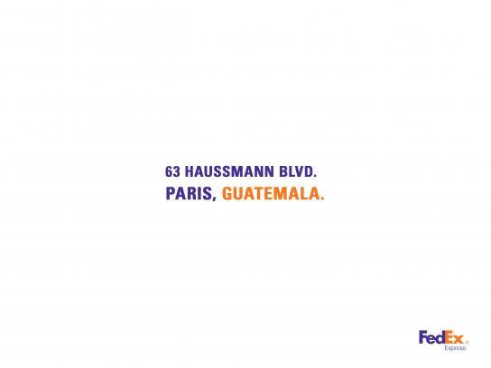 FedEx Print Ad - France