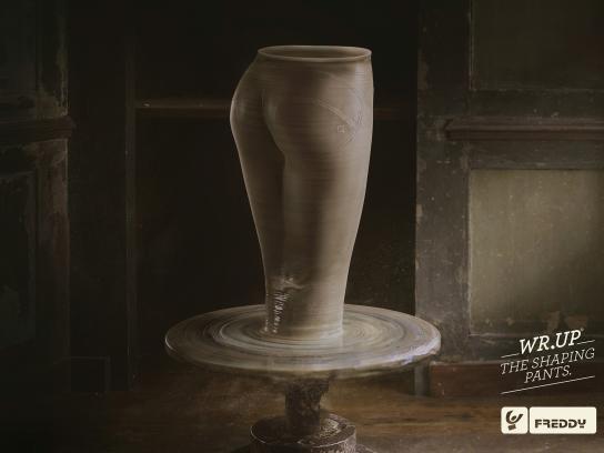 Freddy Print Ad -  Pottery