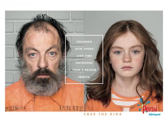Persil Print Ad - Free the kids, 2