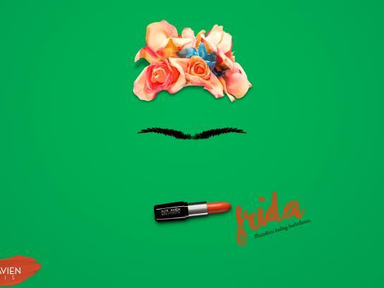 Alix Avien Print Ad - Frida