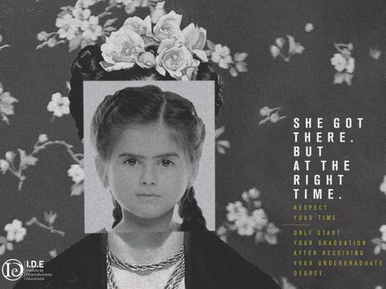 IDE Cursos Print Ad - Frida