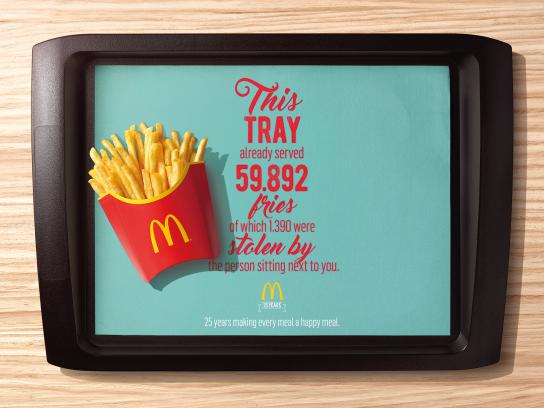 McDonald's Print Ad - Fries
