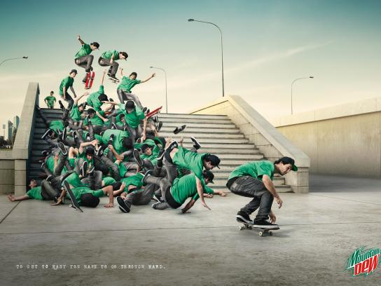 Mountain Dew Print Ad -  Philosophy