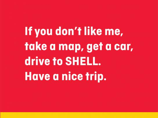 Shell Print Ad - From Hell to SHELL, 2