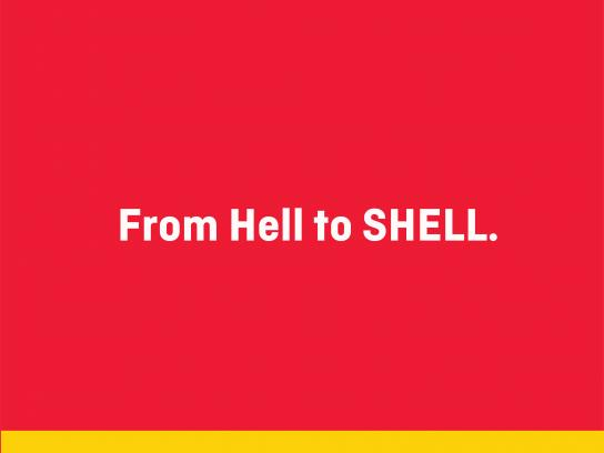 Shell Print Ad - From Hell to SHELL, 5