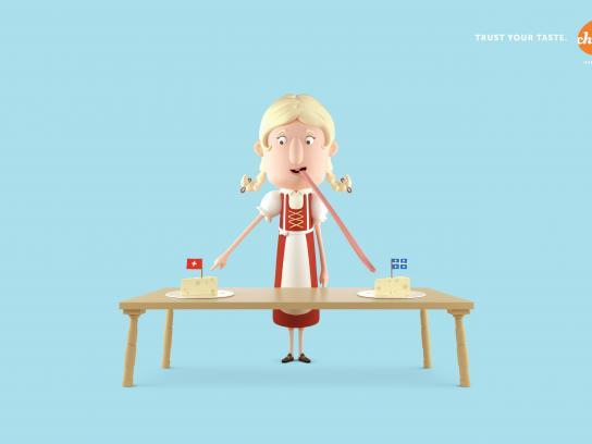 Les Producteurs de lait du Québec Print Ad - Swiss