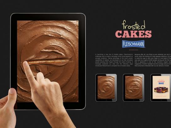 Fleischmann Digital Ad -  Frosted Cakes