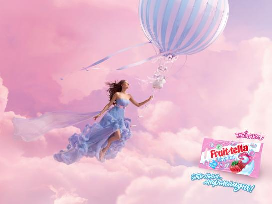 Fruit-tella Outdoor Ad - Balloon