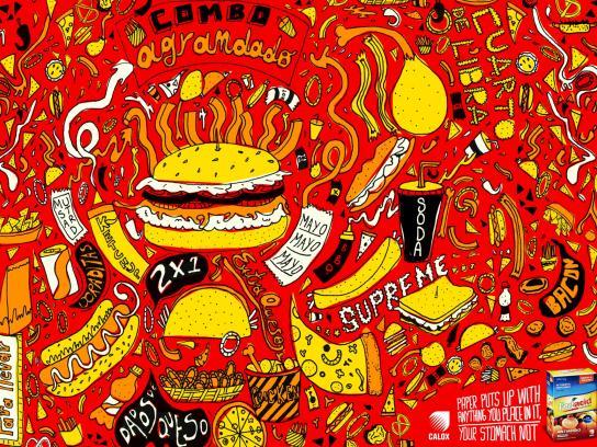 Frutacid Print Ad -  Fast food