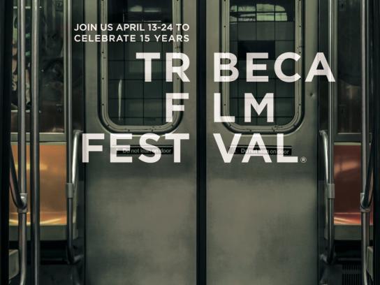 Tribeca Film Festival Print Ad -  Join us, 3