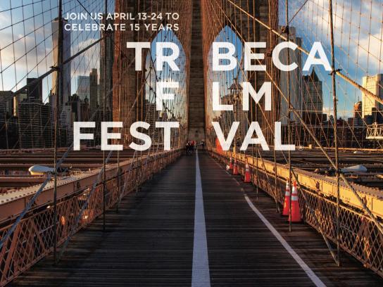 Tribeca Film Festival Print Ad -  Join us, 4