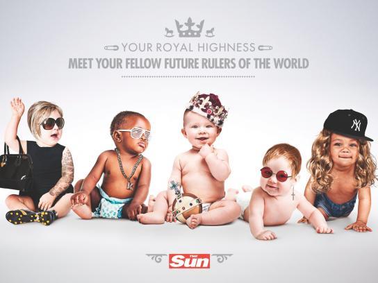 The Sun Print Ad -  Future Rulers