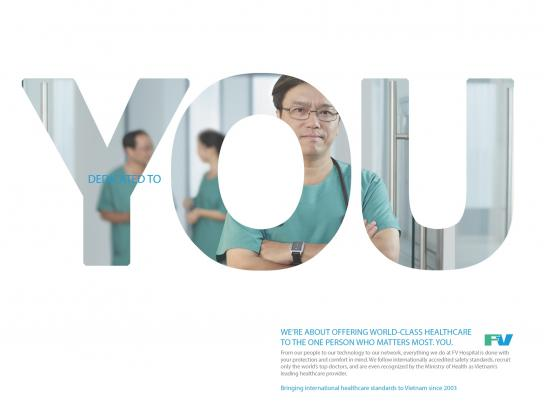 FV Hospital Print Ad -  Dedicated to you, 3