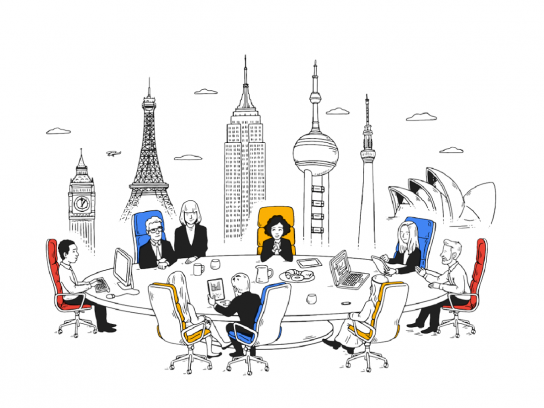 G Suite Print Ad - All together now