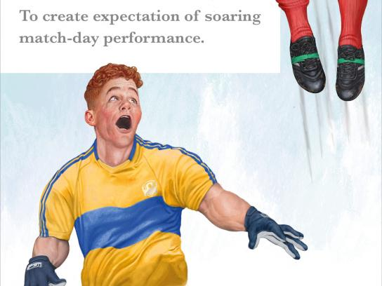 Irish Examiner Print Ad - We Define the Games - Flying in Training