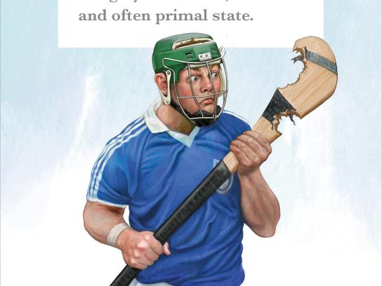 Irish Examiner Print Ad - We Define the Games - Savage Hunger
