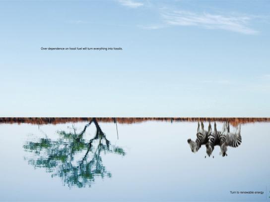 Gail Gas Print Ad - Renewable energy