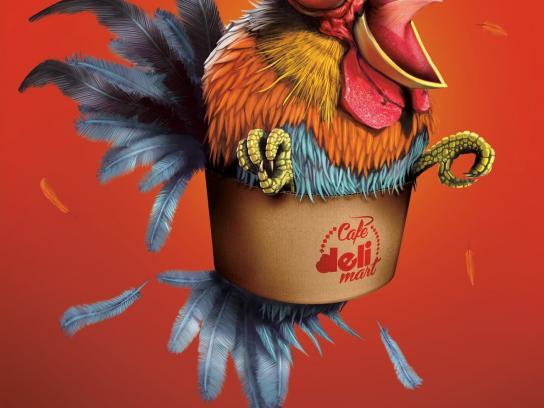 Deli Mart Print Ad -  Gallo