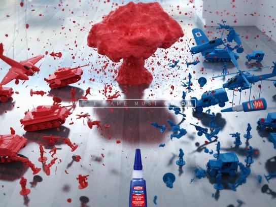 Loctite Print Ad -  War, 2