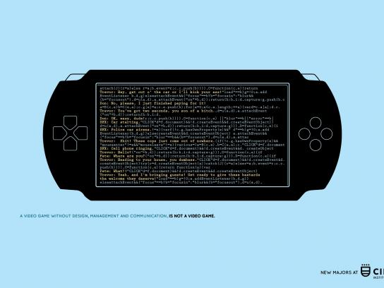 Cibertec Print Ad -  Game console