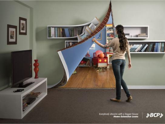 BCP Print Ad -  Game Room