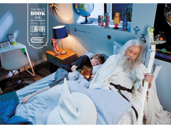 Steimatzky Print Ad -  Gandalf