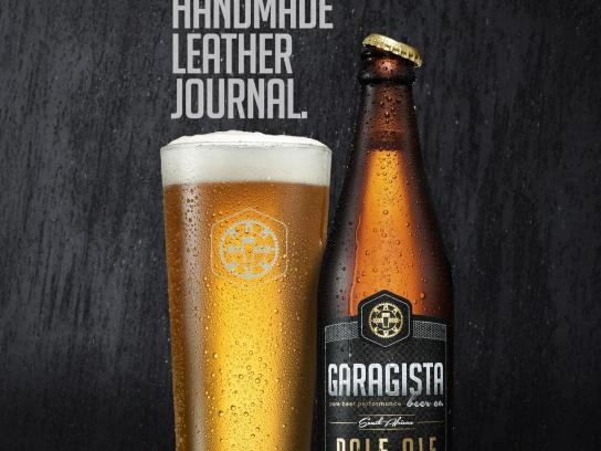 Garagista Print Ad -  Journal