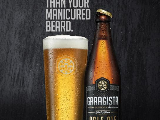 Garagista Print Ad -  Beard