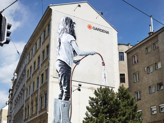 Gardena Print Ad - Grow with your Garden