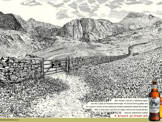 Wainwright Print Ad -  Gate