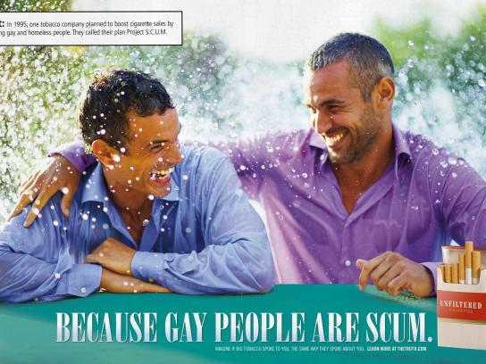truth Outdoor Ad -  Gays