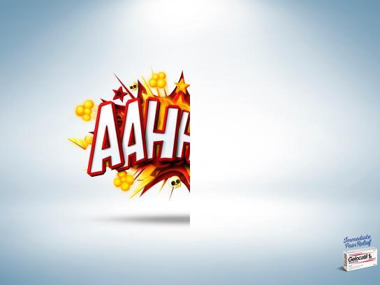 Gelocatil Print Ad -  Aahh