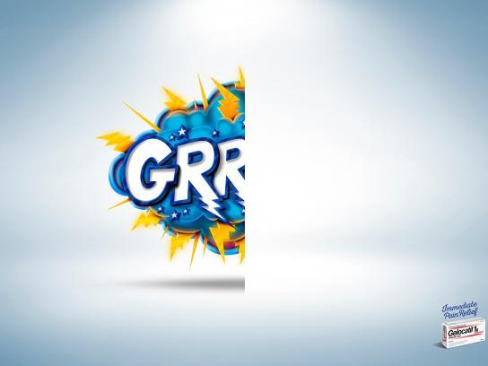 Gelocatil Print Ad -  Grr