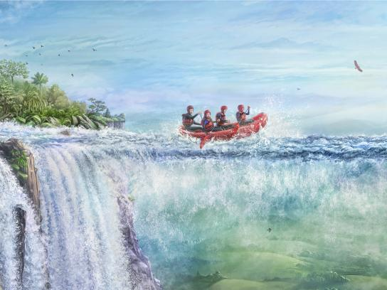 Generali Print Ad - No Ordinary - Rafting