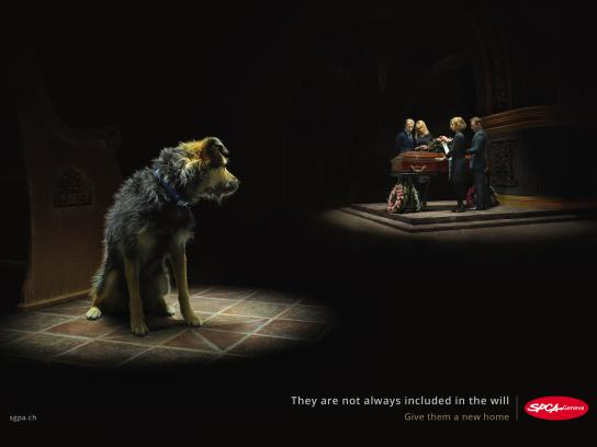 SPCA Outdoor Ad - Death