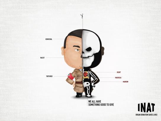 INAT Print Ad -  Racist