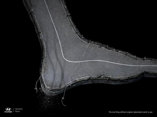 Hyundai Print Ad - Foot